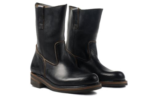 lone wolf leather farmer boots