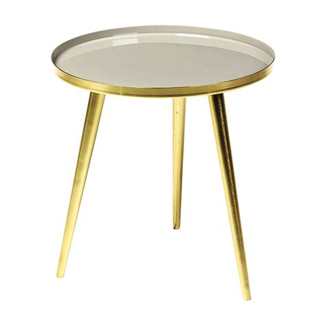Small White Side Table White And Gold Small Side Table Achica