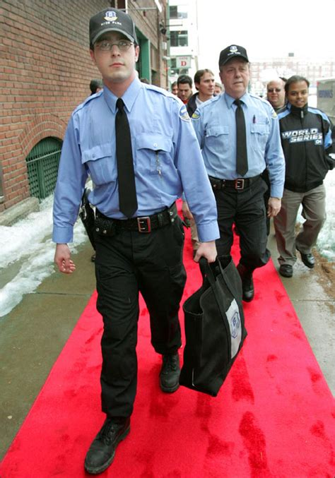 Brinks Security Guard by Breaking News Dirt Dogs Boston Sox Nation