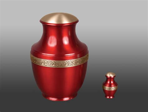 Cremation Vases by Sapphire Brass Vase Cremation Urn The Sun Moon And