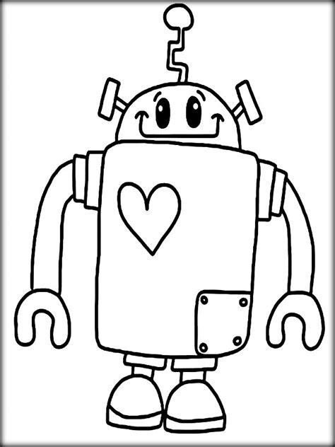 robot boy coloring page robot boy free coloring pages