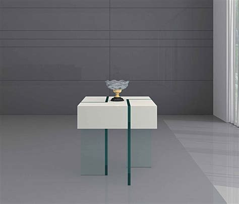 Modern White End Table by Modern White Floating End Table Cloud Modern Side