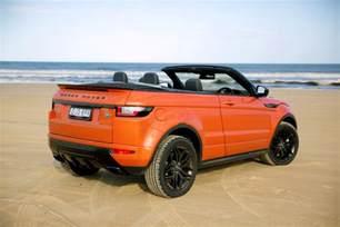 2017 range rover evoque convertible review caradvice