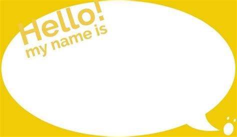 Name Tag Label Templates Exles Lucidpress Name Tag Sticker Template