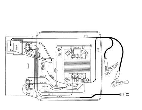 schumacher battery charger schematics diagram wiring