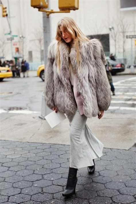 fashion latest trend fur coats
