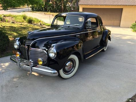 1941 plymouth special deluxe 1941 plymouth special deluxe 4 passenger club coupe for