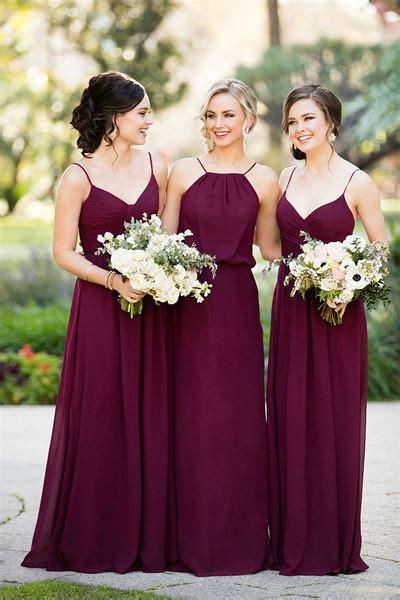 bridesmaid colors bridesmaid dresses 1000 dress ideas for your wedding