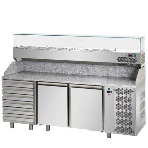 banco pizza refrigerato banco pizza refrigerato 2 porte con cassettiera 6 cassetti