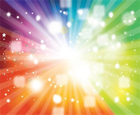 rainbow vector background colors