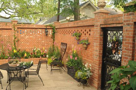 Privacy Wall And Entrance Gate To My Courtyard A House Plans With Walled Courtyards