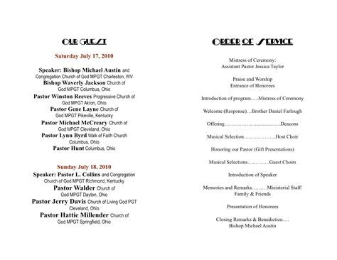 anniversary program template church program template cyberuse