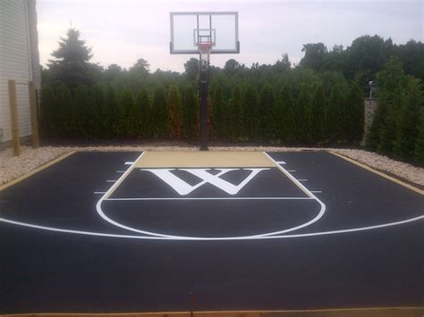 outdoor basketball court template basketball court size comparison of dimensions clipgoo