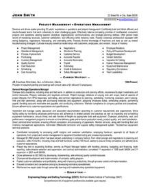 Project Manager Resume Example Top Supply Chain Resume Templates Amp Samples