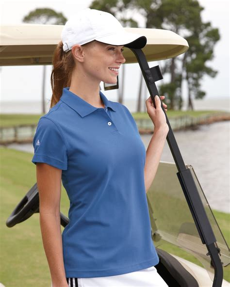 Toner A85 adidas golf climalite pique polo a85 evan webster ink