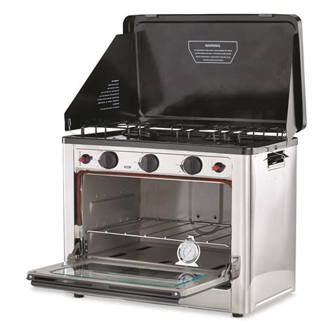 Outdoor Cooktop Propane by Stansport Outdoor Propane Gas Stove And C Oven
