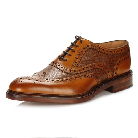 oxford leather shoes loake mens formal shoes oxford brogues brown leather