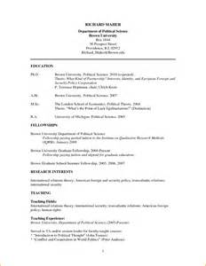Curriculum Vitae Template For Students by 10 Graduate Student Curriculum Vitae Sle Invoice