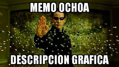 Meme Ochoa - cac chile 7 mexico 0 mexico handed worst ever