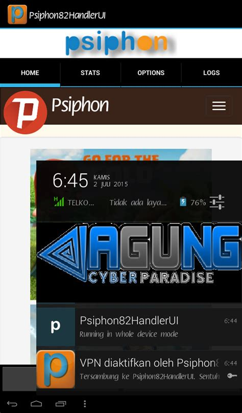 setting psiphon telkomsel cara internet gratis di android dengan psiphonhandler