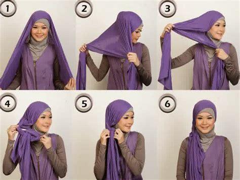 tutorial jilbab untuk remaja cara pakai jilbab modern untuk remaja minatbaca com