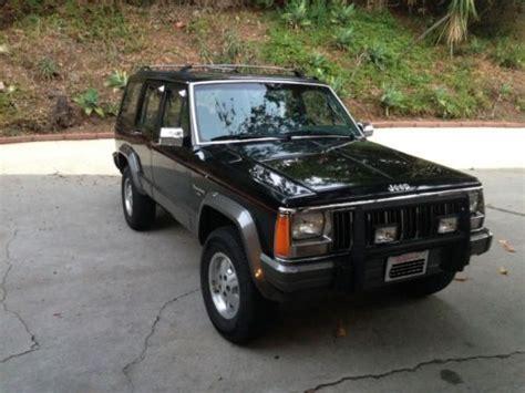 1992 Jeep Laredo Purchase Used 1992 Jeep Laredo Xj In Los Angeles