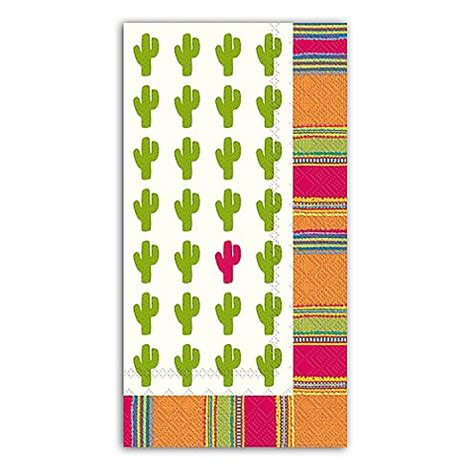 paper guest towels for bathroom buy habanera cactus 3 ply paper guest towels from bed bath