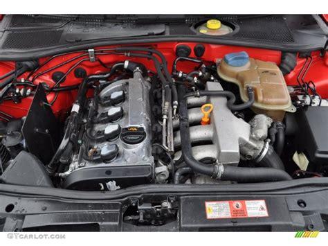 Audi A4 1 8 Engine 2001 audi a4 1 8t sedan 1 8 liter turbocharged dohc 20v 4