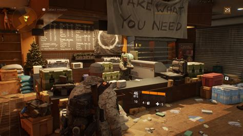 the safe house the division all weapon and gear vendors safe houses
