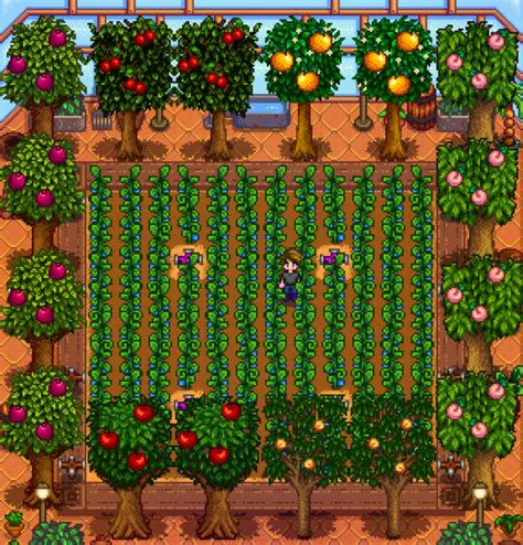 fruit trees stardew valley stardew valley trees guide to grow stardew valley