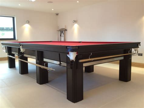 connoisseur 12 x 6 snooker table with square legs