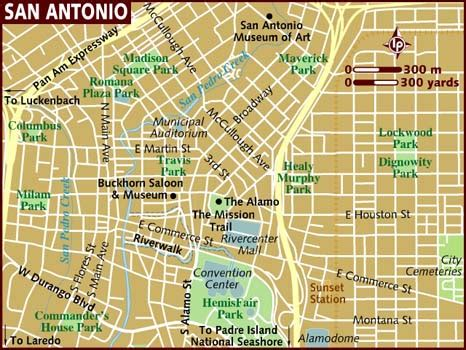 san antonio usa map map of san antonio