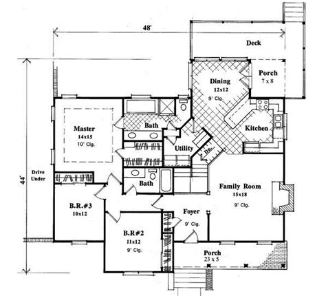 one story floor plans with bonus room one story country style house plans with bonus room