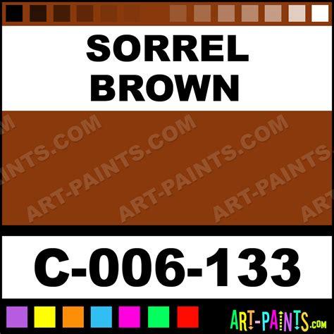 sorrel color sorrel brown stains ceramic porcelain paints c 006 133