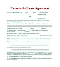 Commercial Property Rental Agreement Template 26 Free Commercial Lease Agreement Templates Template Lab