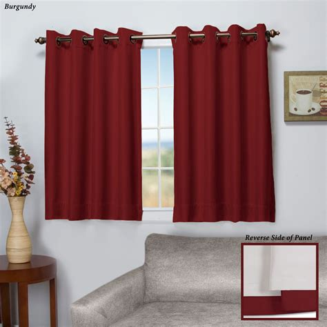 short curtains worthington blackout short grommet curtain panel
