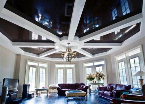 deckendesign wohnzimmer 20 tolle vorschl 228 ge zur deckengestaltung