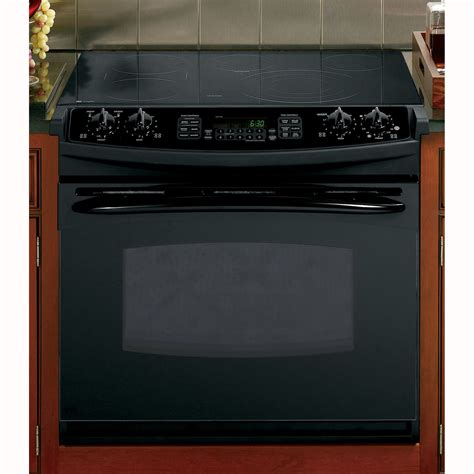 Electric Drop In Cooktop ge profile pd968dpbb series 30 quot convection drop in electric range w radiant cooktop black