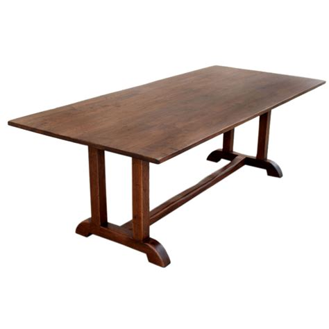 antique black walnut dining table petersen antiques custom built dining table made from