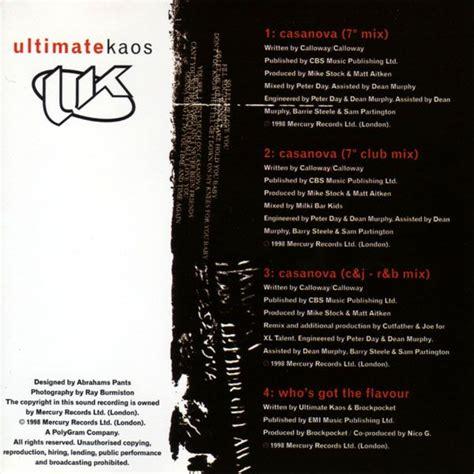Kaos Flava 07 casanova ultimate kaos mp3 buy tracklist