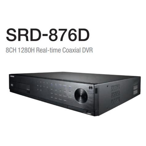 Dvr Cctv Merk Samsung samsung srd 876d beyond series 1280h 8 channel dvr 1tb