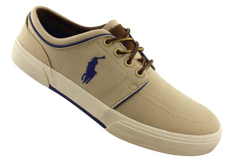 polo shoes polo ralph mens faxon low lace up casual shoes