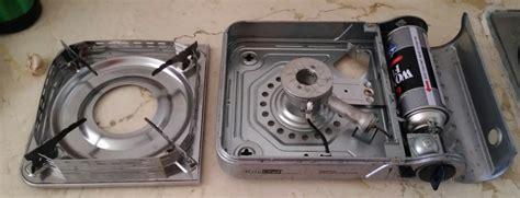 Kompor Portable Malang cara mengganti tabung gas kompor portable anshar