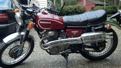 1972 honda cl350 scrambler for sale 1974 honda cl450 no reserve for sale on 2040 motos