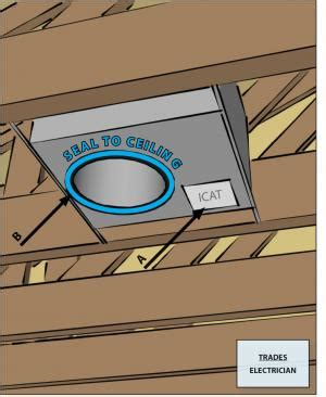 sealing recessed lights from below air sealing recessed light fixtures below unconditioned