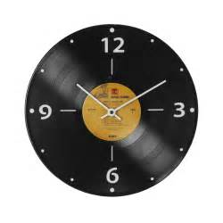 Clock Made Of Clocks Record Clock Lp Vintage Vinyl Timepiece Wall Art