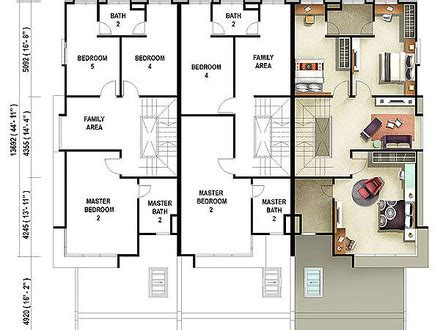 terraced house design terraced house floor plan malaysia