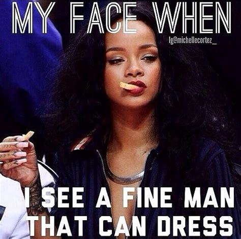 Rihanna Memes - when i see a man who looks good in purple the brooklyn