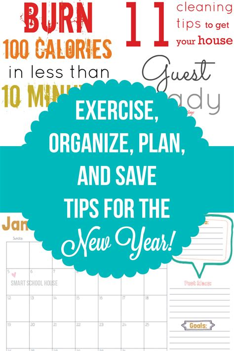 new year planning for early years exercise organize plan and save for the new year