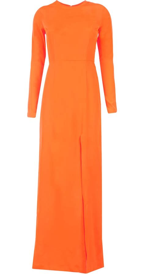 1000 ideas about orange maxi dresses on maxis